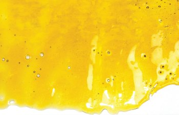 Strawberry Banana Shatter by NUG Concentrates