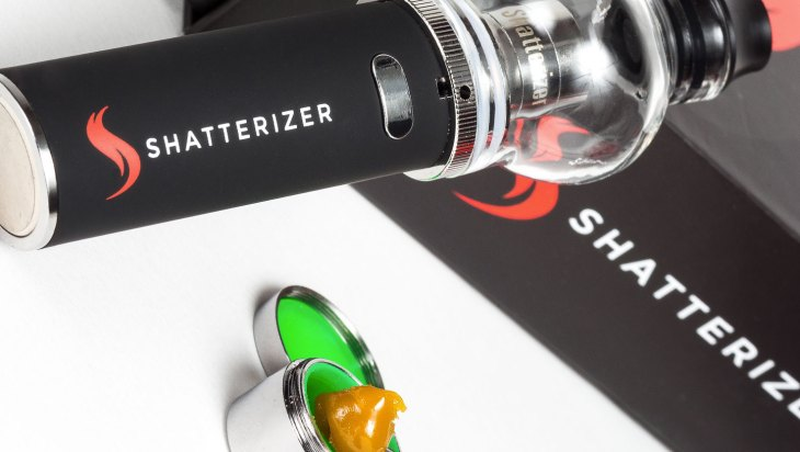 The Shatterizer: Dabbing On the Go!