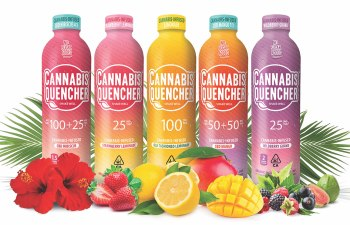 Cannabis Quencher Infused Beverages by The Venice Cookie Co.