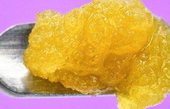 Grape Cookies Rosin Lava by Lazercat Cannabis