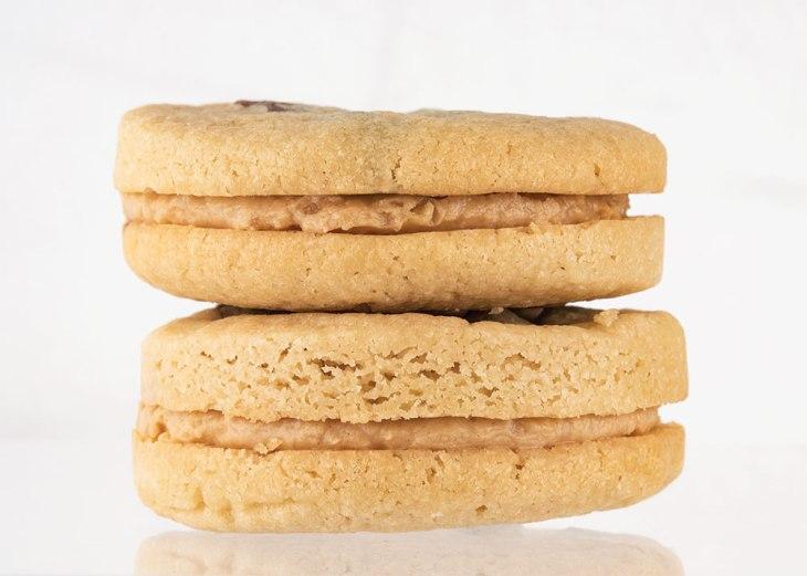 Chocolate Chunk Sandwich Cookies by Titan's Kind