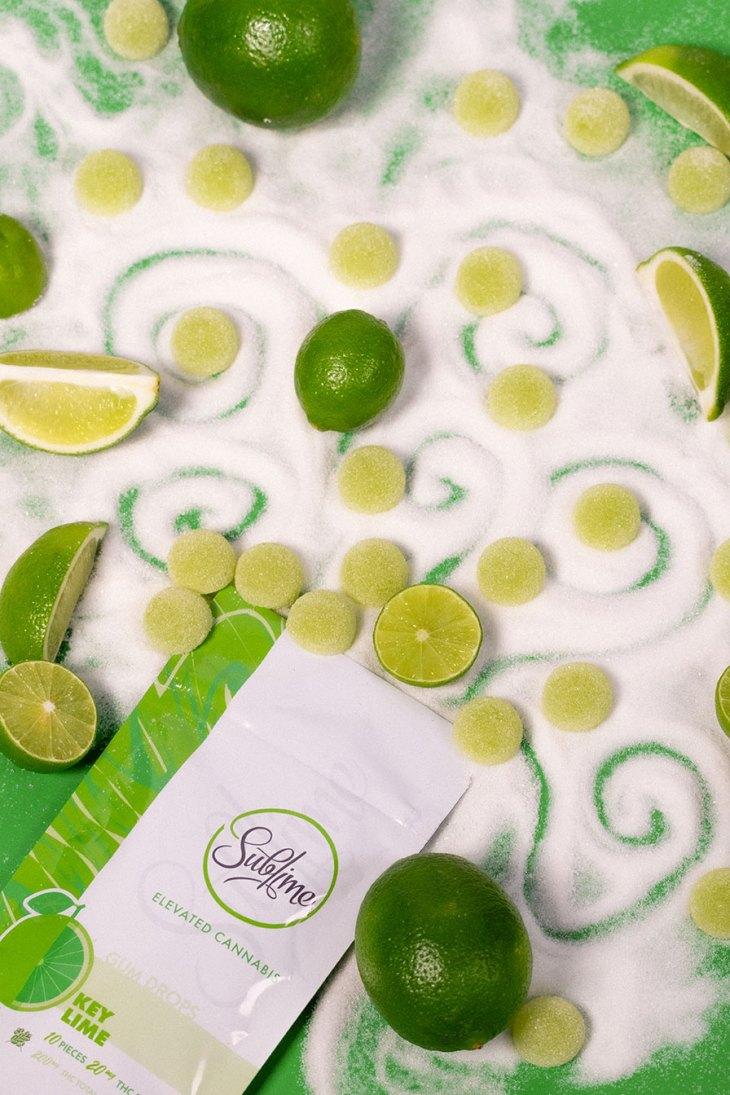 Key Lime Gum Drops by Sublime