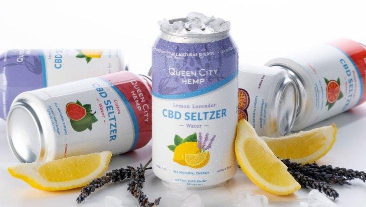 CBD Seltzer by Queen City Hemp