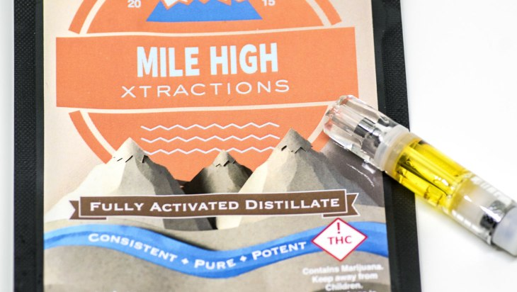 Mandarin Sunset Distillate Pen by Mile High Xtractions