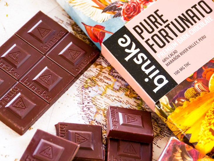 Pure Fortunato Peruvian Dark Chocolate Bar by Binske x Aether Gardens