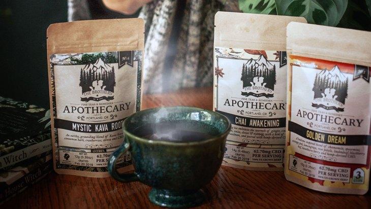 Hemp CBD Tea by The Brothers Apothecary