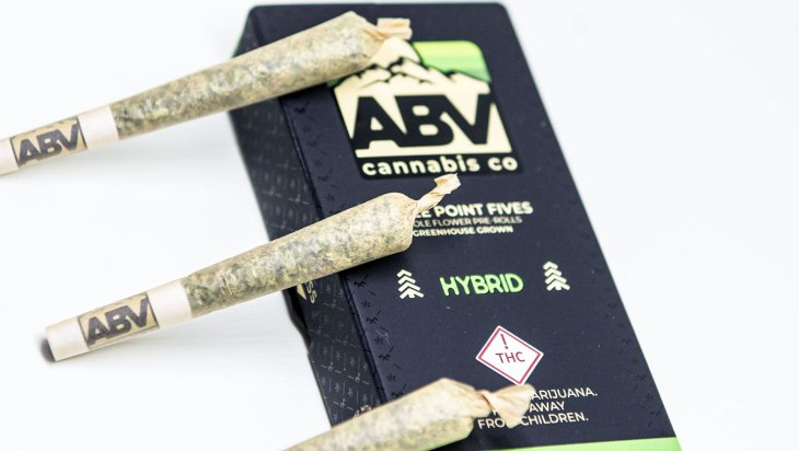 Whole Flower Pre-Rolls by ABV Cannabis Co.