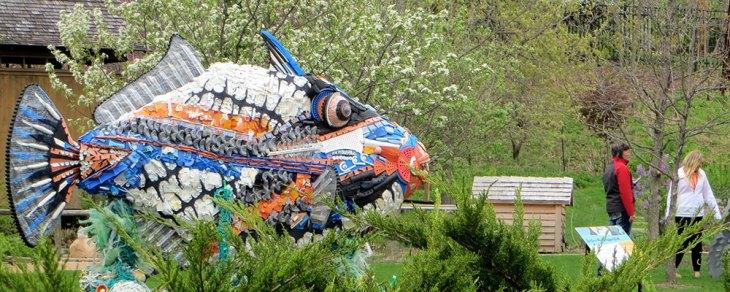 Plastic Art - Fish