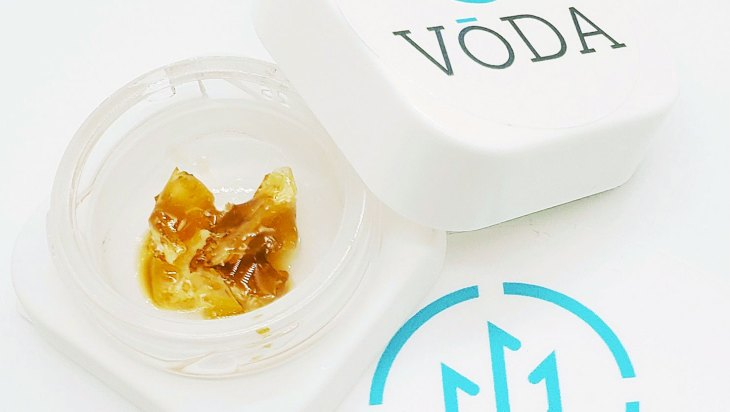 Strawnana Guava Ice Sauce by Vōda Concentrates