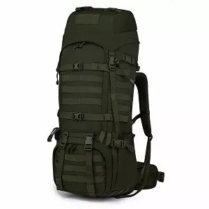 Mardingtop 65L Internal Frame Backpack Tactical Military Molle Rucksack for Camping Hiking Traveling with Rain Cover, YKK Zipper YKK Buckle