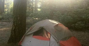 Photo of Lynx tent taken by M.Swigart
