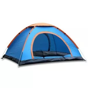 Sports God 3 Person Automatic & Instant Setup Pop Up Tent for Hiking and Camping with Carry Bag