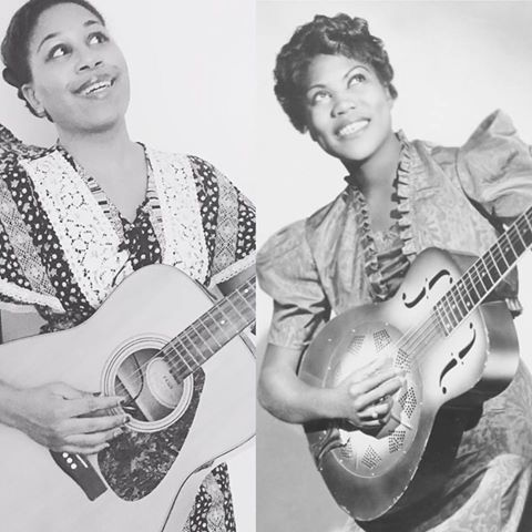 Stephanie as Sister Rosetta Tharpe