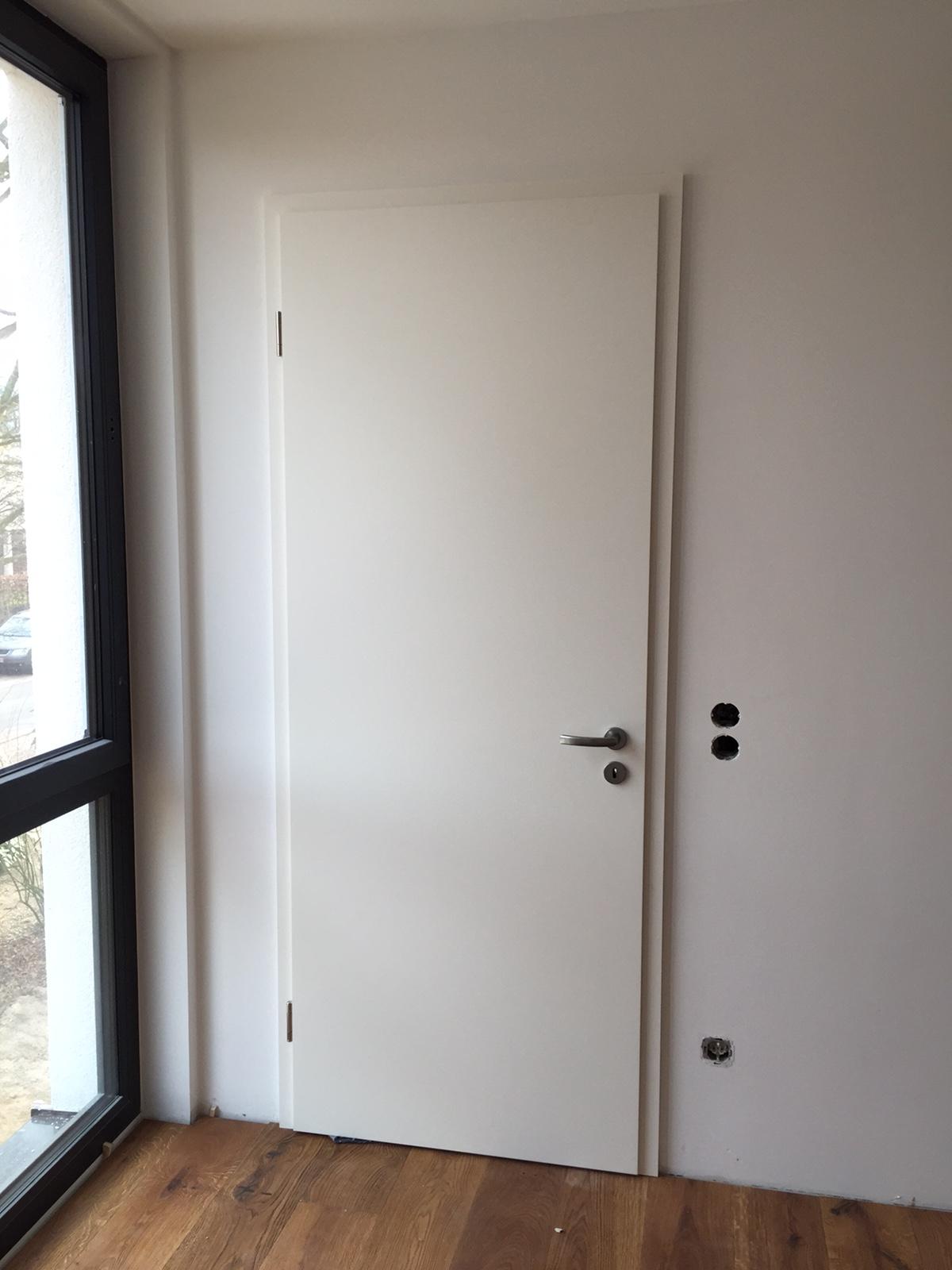 Fenster und Türen Doppelhausvilla