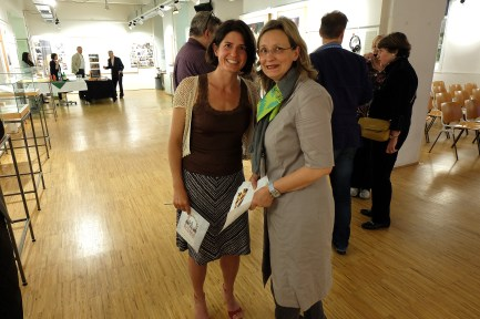 Carrie Paterson and Ursula Seeber. Photo Philipp Heinz.