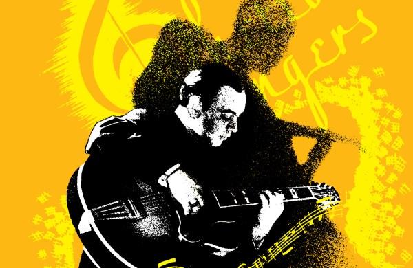 The Ghetto Swinger - paperback book cover