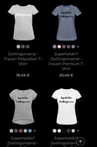 Designs für coole Zwillingsmamas.