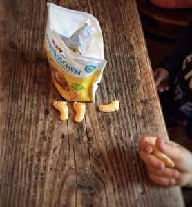 Knuspergebäck für Kleinkinder