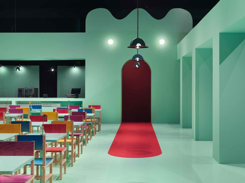 design bar colore pareti