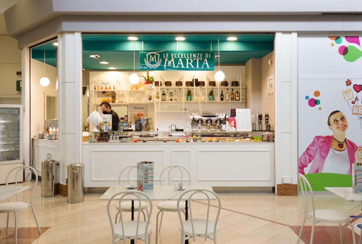progettazione caffetteria gelateria