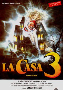 La casa 3 di Umberto Lenzi, locandina italiana del film