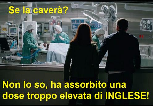 Nick Fury all'ospedale