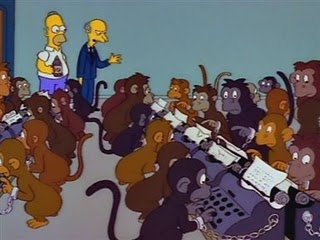 infinite monkey theorem simpsons