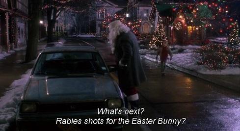 Scena della multa a Babbo Natale nel film Mamma ho perso l'aereo