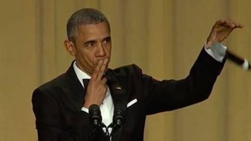 Obama mic-drop meme