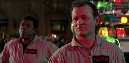 Bill Murray in Ghostbusters 2 che dice: Ma fa bene alla pancina e felice la mammina