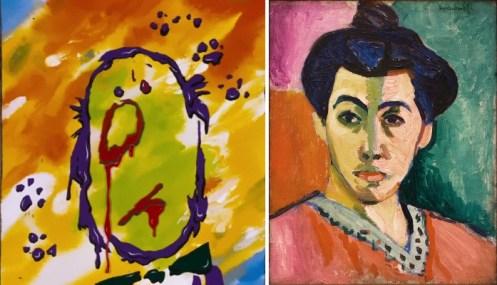 Gli aristogatti, dipinti di Matisse a confronto
