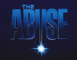 Poster del film The Abyss modificato in The Abuse