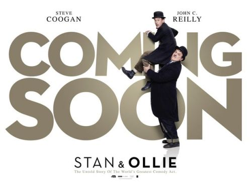 Stan & Ollie (2018) coming soon poster