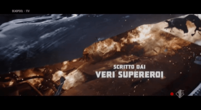Titoli di inizio di Deadpool in italiano: scritto dai veri supereroi