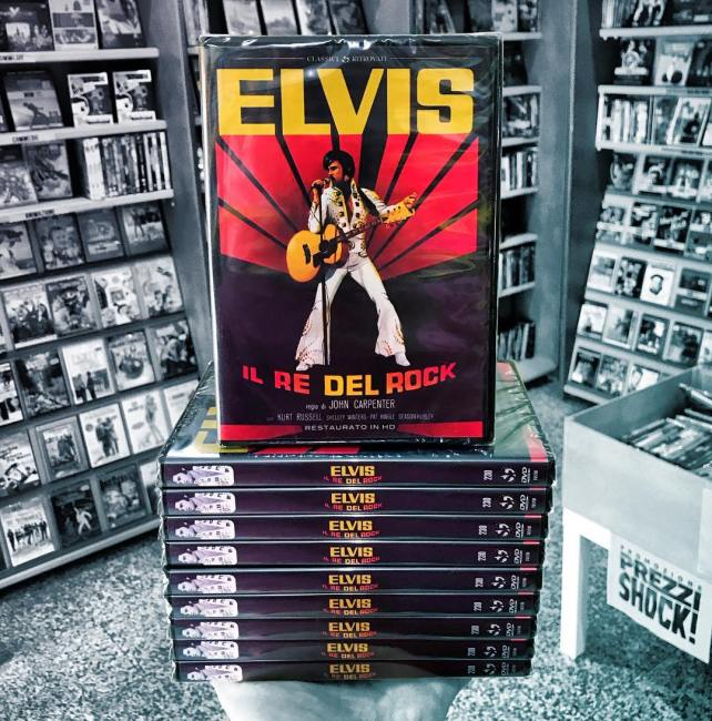 Foto del DVD italiano di Elvis il re del rock
