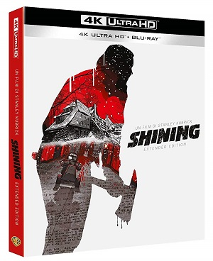 Shining extended edition versione 4k UHD e Blu-Ray