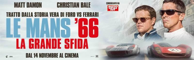 Le Mans '66 - La grande sfida, locandina orizzontale del film