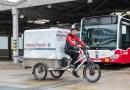 Ve Vídni rozvážejí potraviny z autobusové garáže