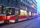 Z ARCHIVU DOPRAVÁČKA – nehoda tramvají v Lidické ulici v Praze