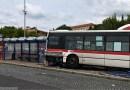 Na autobusovém nádraží ve Slaném havaroval autobus