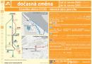 O víkendu se uzavře silnice mezi Strnady a Měchenicemi, náhradní dopravu zajistí autobusová linka 742 a vlak