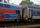 V Praze-Běchovicích se srazil CityElefant s rychlíkem, souprava osobního vlaku byla mimořádně vypravena pro cestující z Pendolina