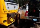 V obci Mačkov došlo ke střetu vlaku s osobním automobilem