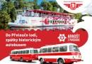 DP města Pardubic zve na plavbu lodí a jízdu historickým autobusem