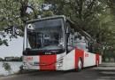 Nová podoba vozidel  Pražské integrované dopravy, nejvýraznějším prvkem na vozidlech budou červené vertikální pruhy