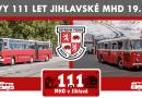 O víkendu se budou konat v Jihlavě oslavy 111 let MHD