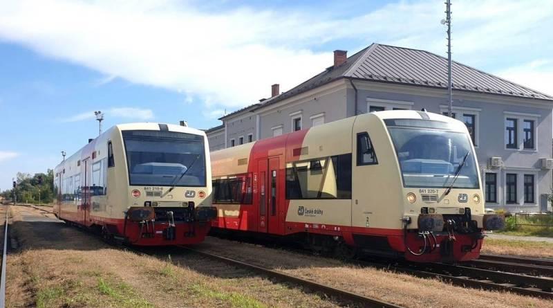České dráhy nasadily vlaky RegioSpider na trať z Postoloprt do České Lípy