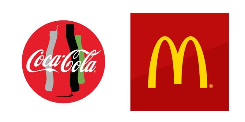 McDonalds & Coca-Cola brands