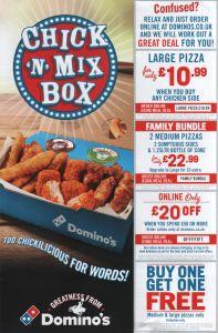 dominos leaflet