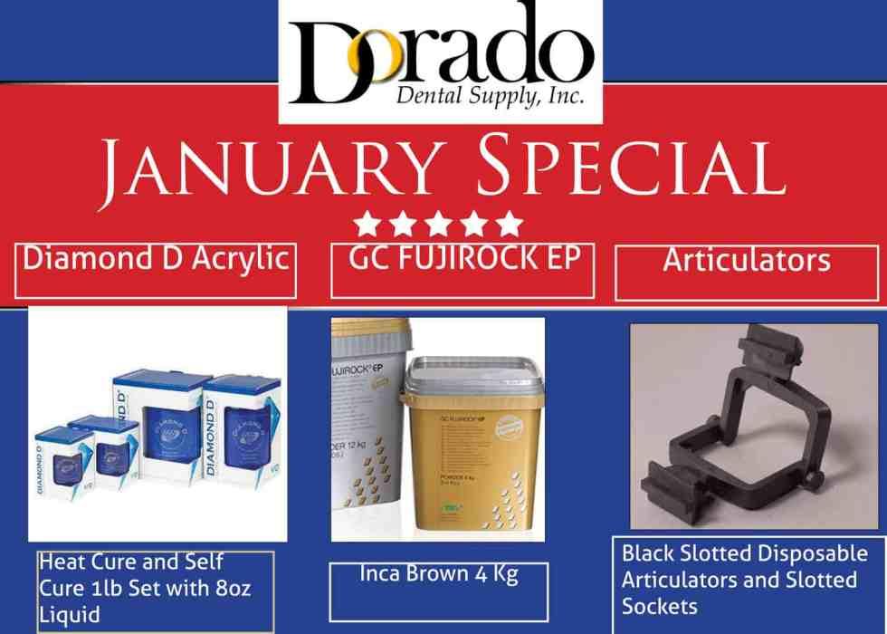 January 2018 Special - Dorado Dental Supply, Inc.